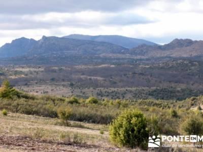 Senda Genaro - GR 300 - Embalse de El Atazar; senderismo en pontevedra
